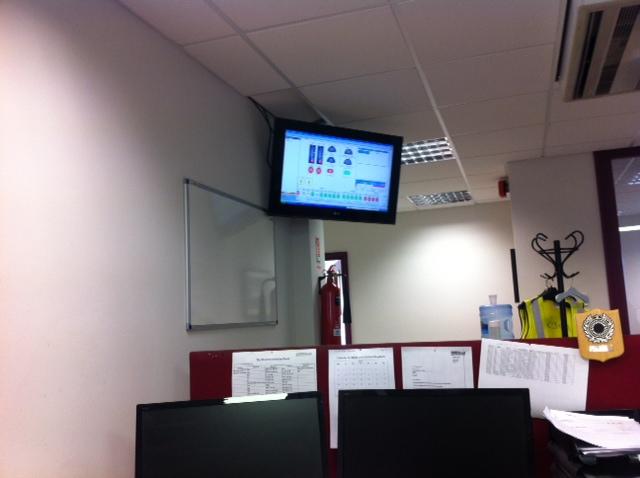 Sales Wallboard Photo