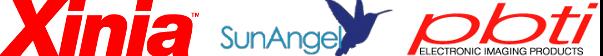 Xinia PBTI and SunAngel Logos